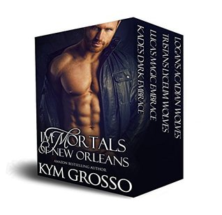 Immortals of New Orleans Box Set: Books 1-4 (Immortals of New Orleans, #1-4)