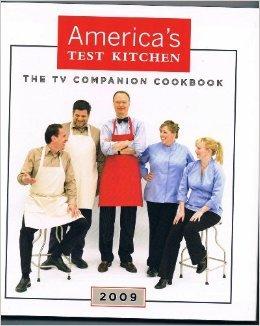 America's Test Kitchen The Tv Companion Cookbook 2009