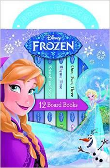 Disney Frozen: 12 Board Books