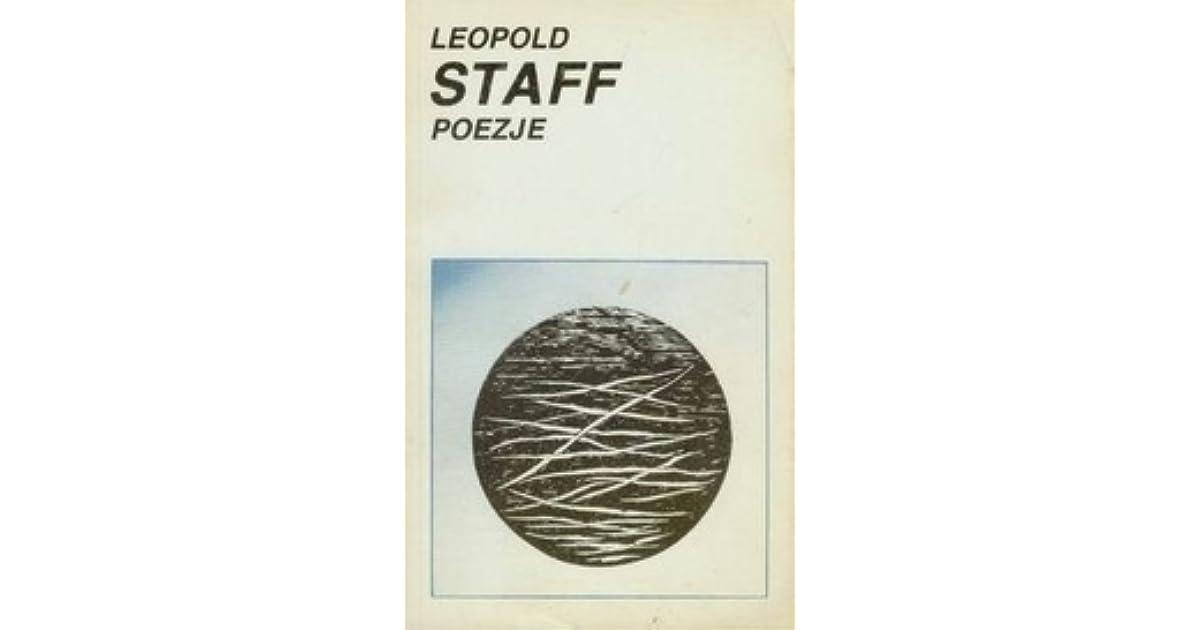 Poezje By Leopold Staff