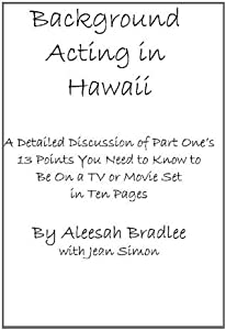 Background Acting in Hawaii Part Two