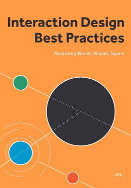 Interaction Design Best Practices Words Visuals Space by Jerry Cao