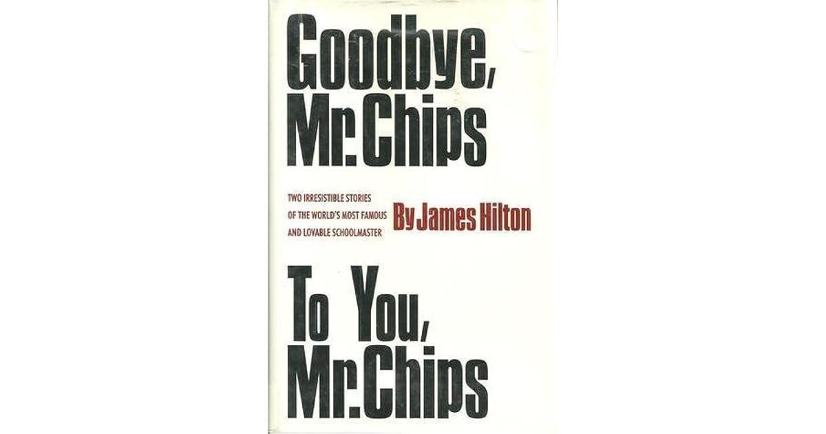 Goodbye Mr Chips Ebook