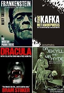 Frankenstein, Dracula, Dr. Jekyll & Mr. Hyde, and Metamorphosis Bumper Pack
