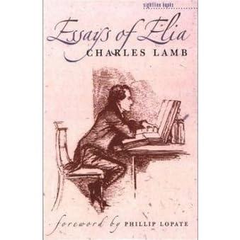 charles lamb essays analysis