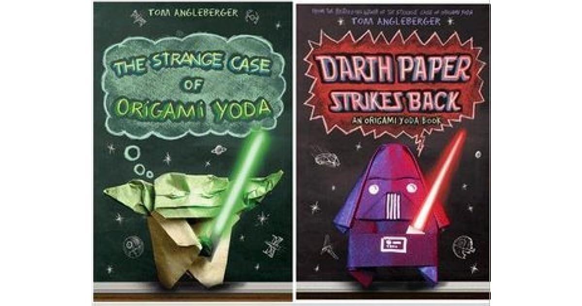 Origami Yoda Pack The Strange Case Of Origami Yoda Darth Paper