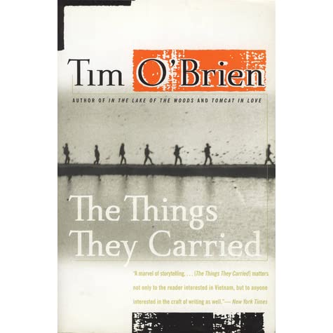 the things they carried essay themes In tim o'brien's the things they carried, there was a definite and obvious emphasis on the word carry- however, the theme behind the word carry- was the idea of weight physical and emotional.