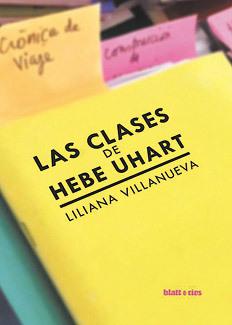 Resultado de imagen de liliana villanueva las clases de hebe uhart