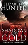 Book cover for Shadows and Gold (Elemental Legacy #0.25)