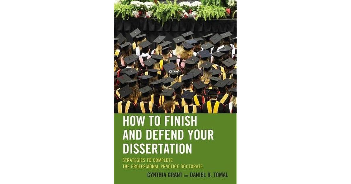 Dissertation finishing grants
