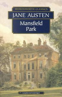 Image result for mansfield park book cover