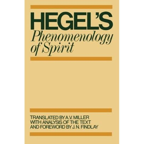 Hegel Phenomenology Of Spirit Pdf