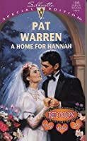 A Home for Hannah (Reunion, #1)