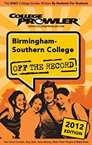 Birmingham-Southern College 2012