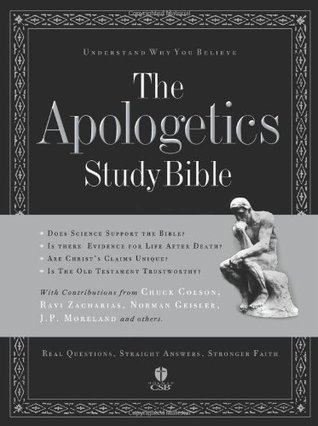 The Apologetics Study Bible by Anonymous