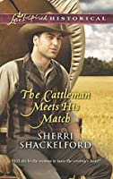 The Cattleman Meets His Match (Prairie Courtships, #3)