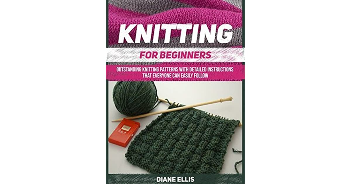 Knitting Basics Book : Knitting for beginners outstanding patterns with