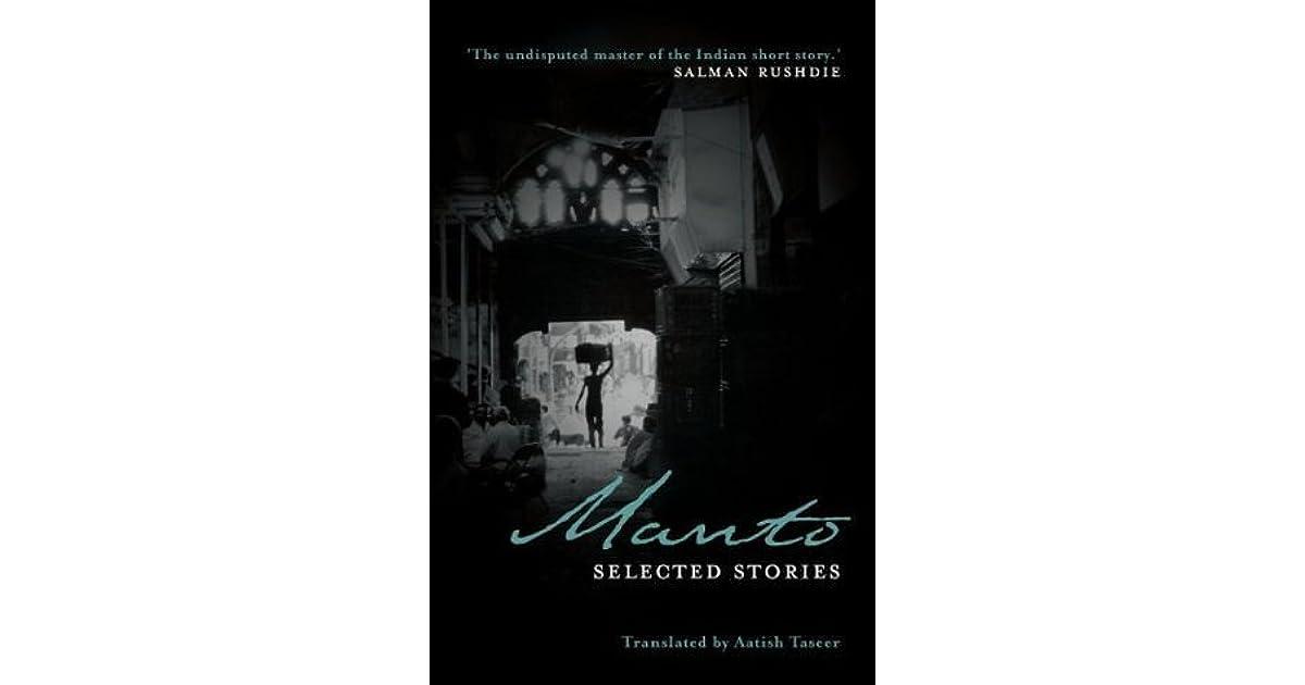 Manto: Selected Stories by Saadat Hasan Manto