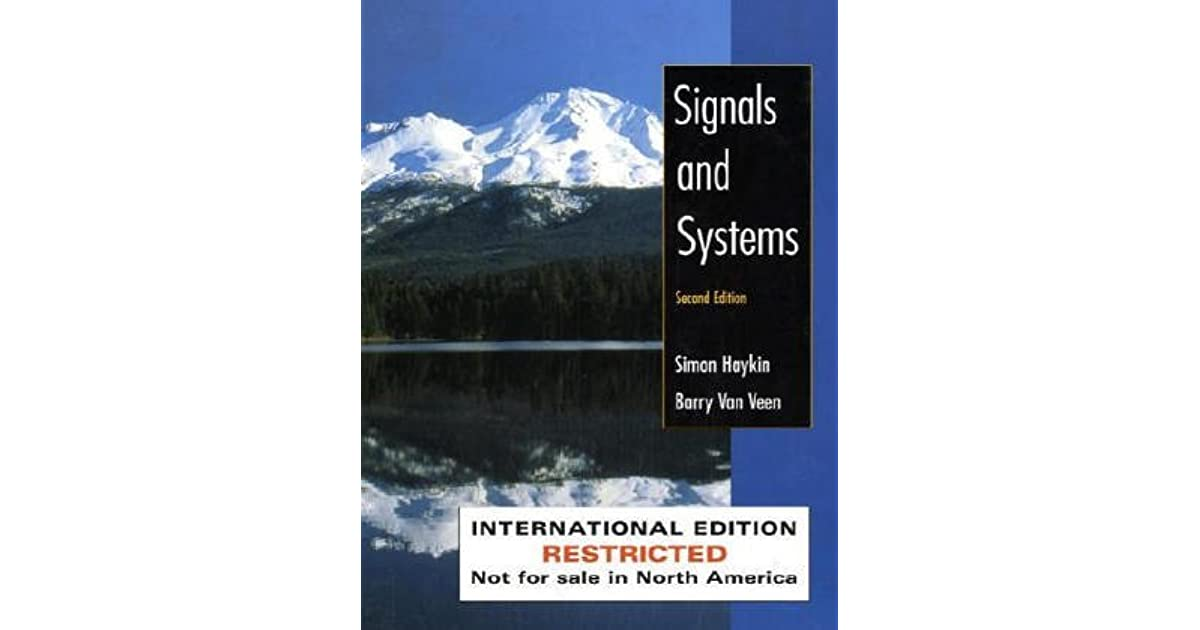 Signals and Systems by Simon S