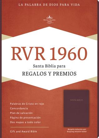 RVR 1960 Biblia para Regalos y Premios, borgoña imitación piel by B&H Espanol