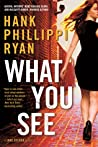 What You See (Jane Ryland, #4)