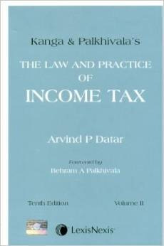 The Law and Practice of Income Tax in 2 Vols