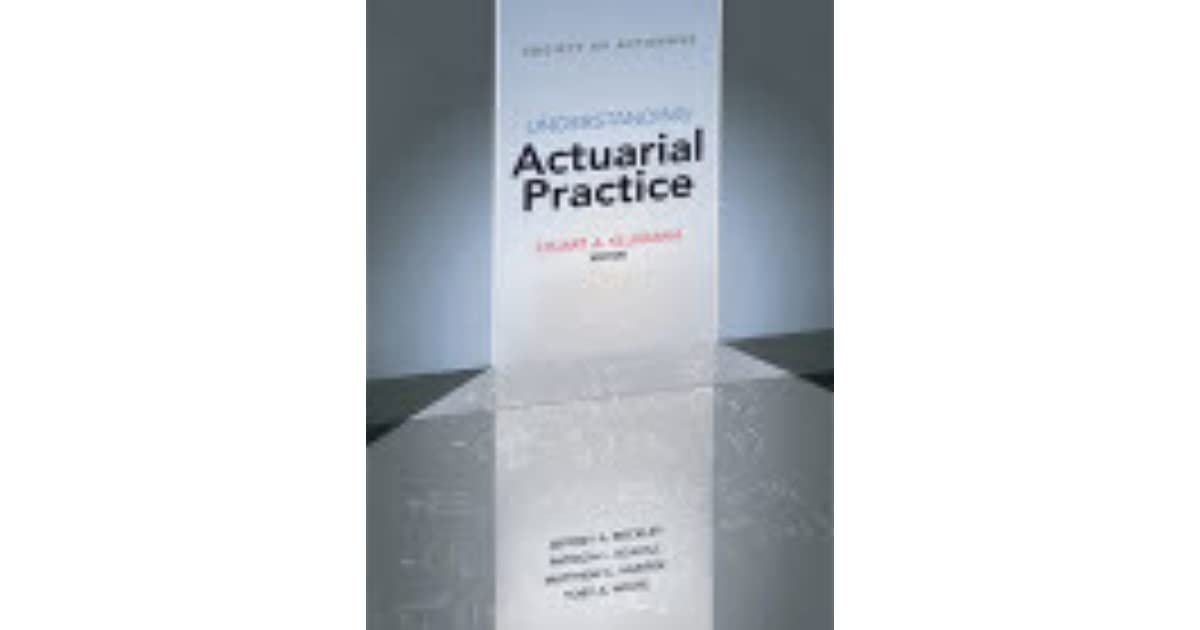 Understanding actuarial management the actuarial control cycle.