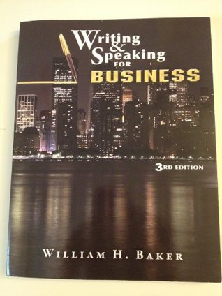 Writing & Speaking for Business