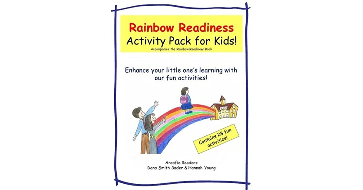 Rainbow Readiness Activity Pack for Kids!: Enhance Your