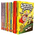Captain Underpants 12 Books Set Collection (And the Revolting Revenge of the ...