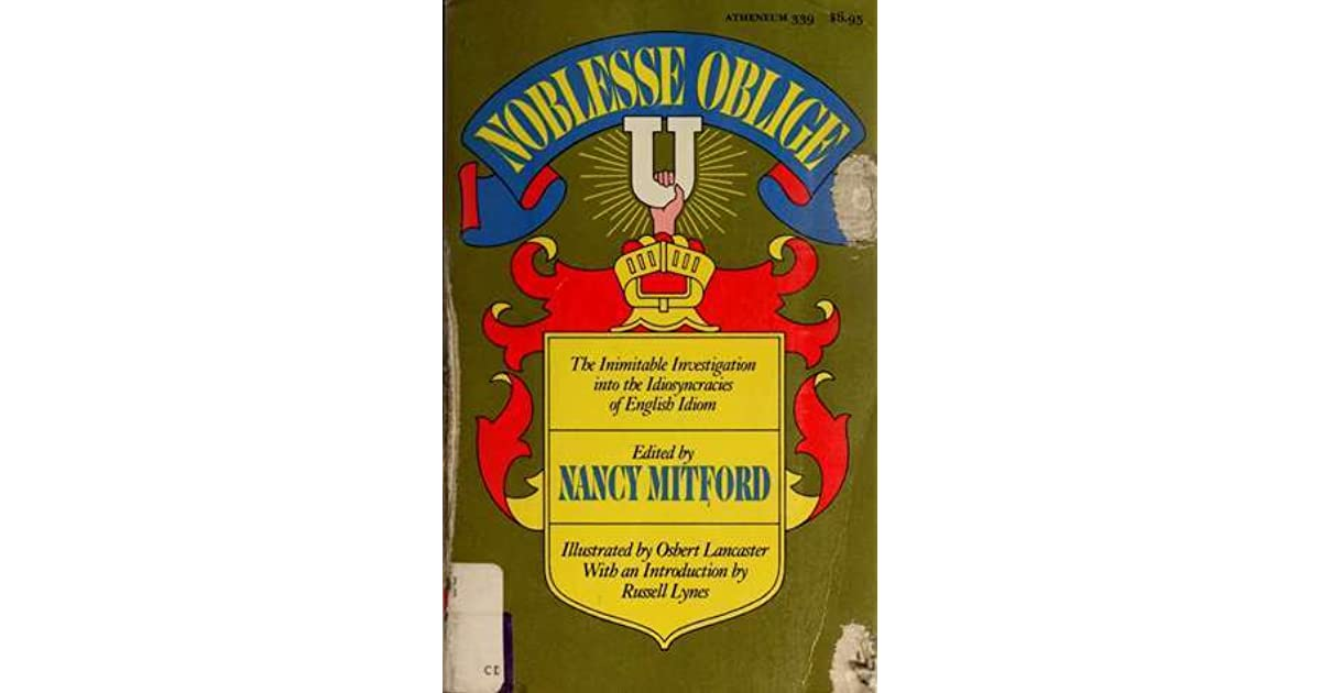Noblesse Oblige: An Enquiry Into the Identifiable