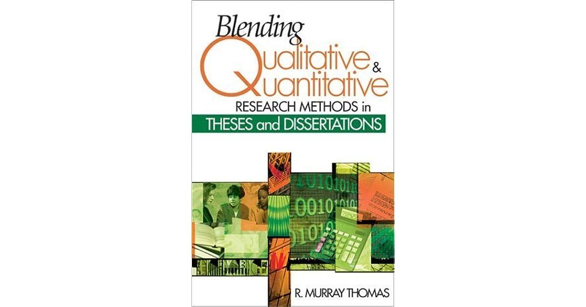 Combining qualitative and quantitative methods   Better Thesis