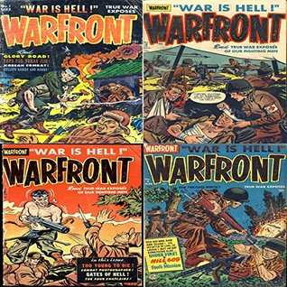 War Front. Issues 1, 2, 3 and 4. War is hell. Read true war exposes of our fighting men. Includes too young to die, glory road, korean combat, gates of hell, under fire, hill 609 and fools mission.