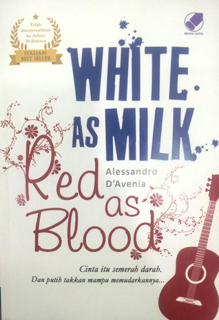 Image result for as white as milk as red ad blood book
