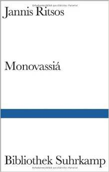 Monovassiá Gedichte Griechisch Und Deutsch By Yiannis Ritsos
