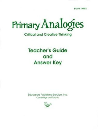 Primary Analogies, Book Three, Teachers Guide and Answer Key  by  Educators Publishing Service