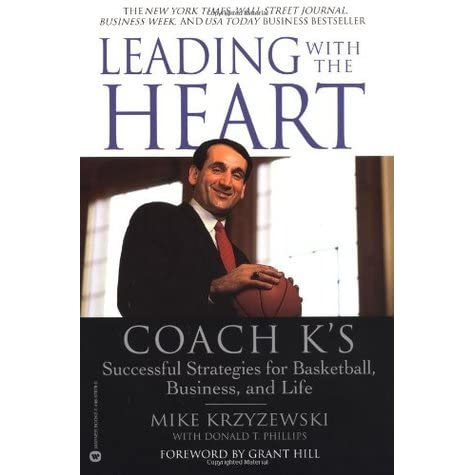 Image result for 'Leading with the Heart: Coach K's successful strategies