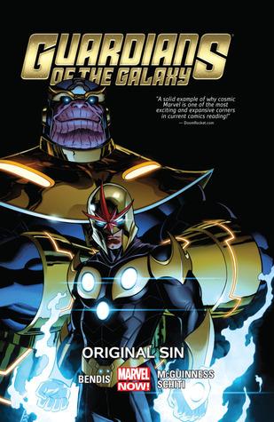 Original Sin Marvel Graphic Novel Comic Book