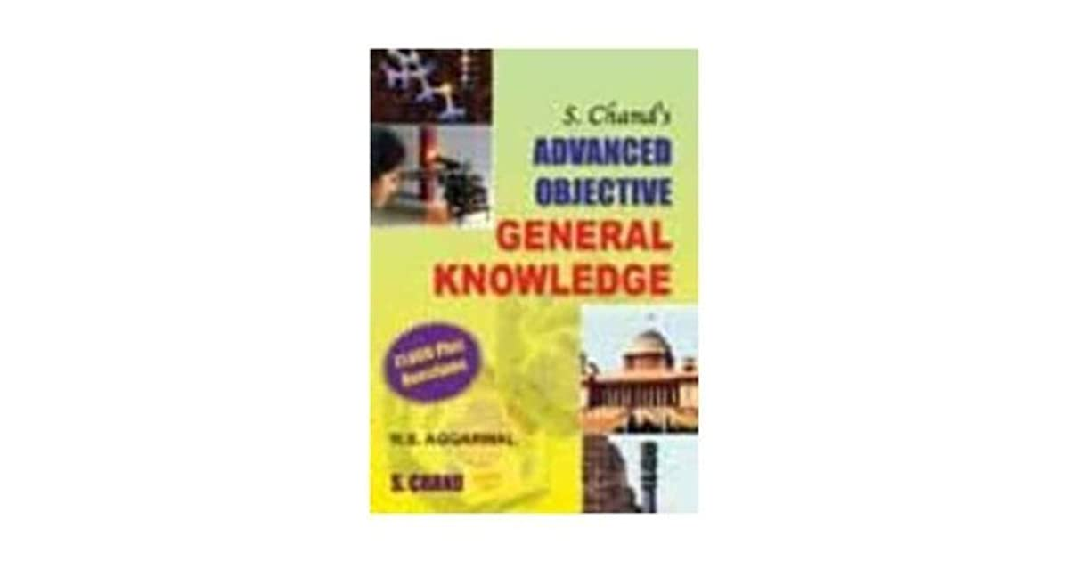 Advanced Objective General Knowledge by R S  Aggarwal