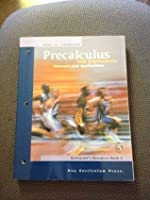 Precalculus with Trigonometry (Concepts and Applications, Instructor's Resource Book 1)