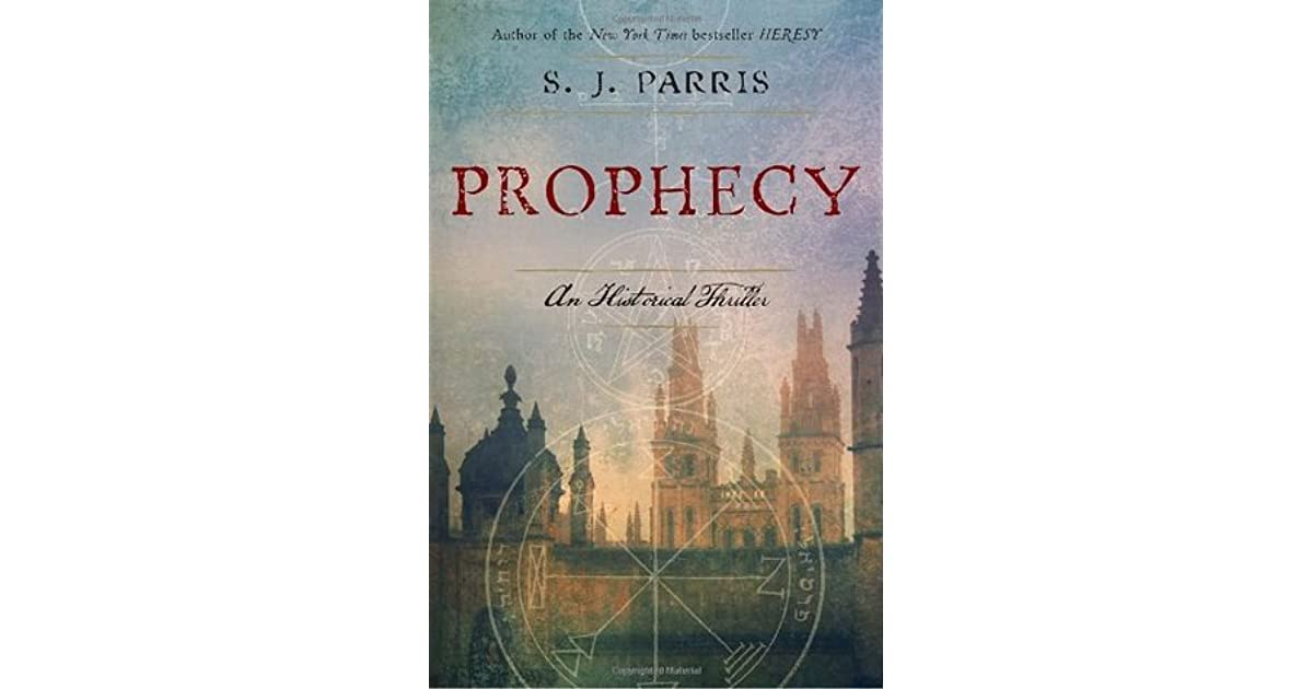Prophecy (Giordano Bruno, #2) by S J  Parris