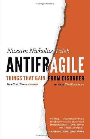Cover for Antifragile: Things That Gain from Disorder, by Nassim Nicholas Taleb