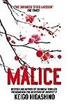 Book cover for Malice
