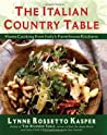 The Italian Country Table: Home Cooking from Italy's Farmhouse Kitchens