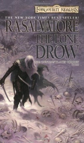 The Lone Drow by R A  Salvatore