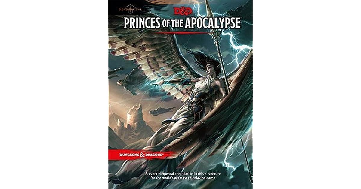 Princes of the Apocalypse by John-Paul Balmet