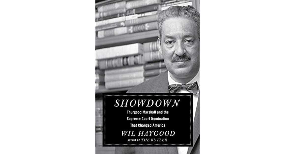 thurgood marshall perseverance for justice