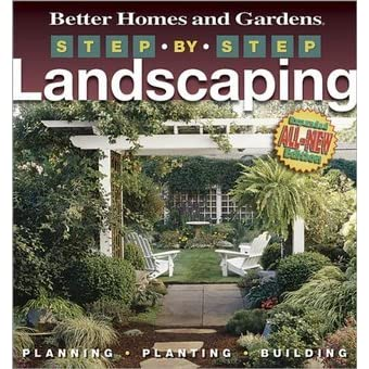 good looking better homes and gardens books.  Step by Landscaping Better Homes and Gardens