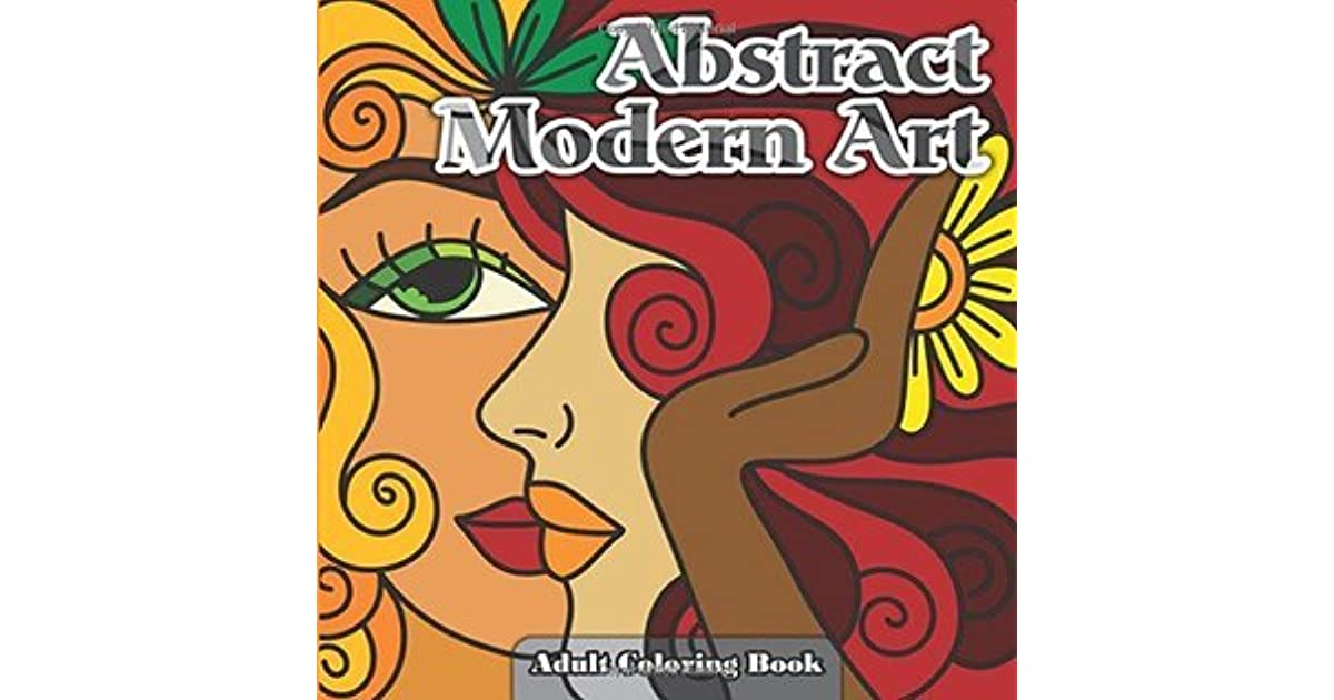 Abstract Modern Art Adult Coloring Book: Volume 24 by Lilt Kids ...