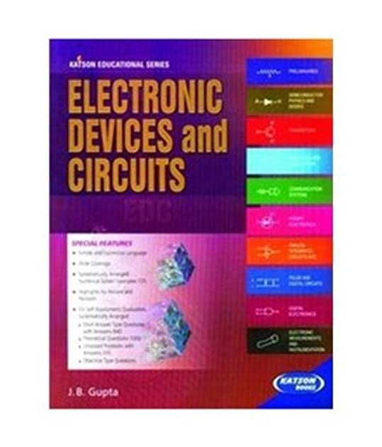 electronic devices and circuits by j b gupta